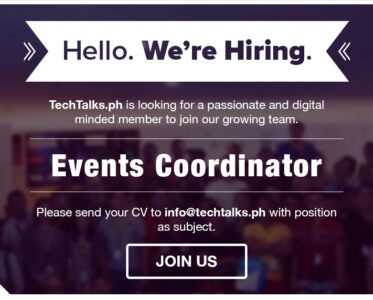 TechTalks.ph Events Coordinator